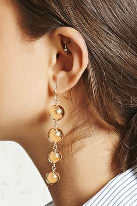 FOREVER 21+ Ball Drop Earrings $4.90 thestylecure.com