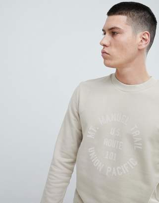 Selected Sweatshirt With Graphic Print