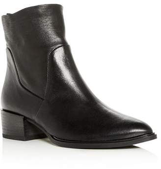 30bfadf7b0b Paul Green Black Lined Leather Women s Boots - ShopStyle