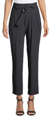 Joie Ianna Belted Cropped Pants