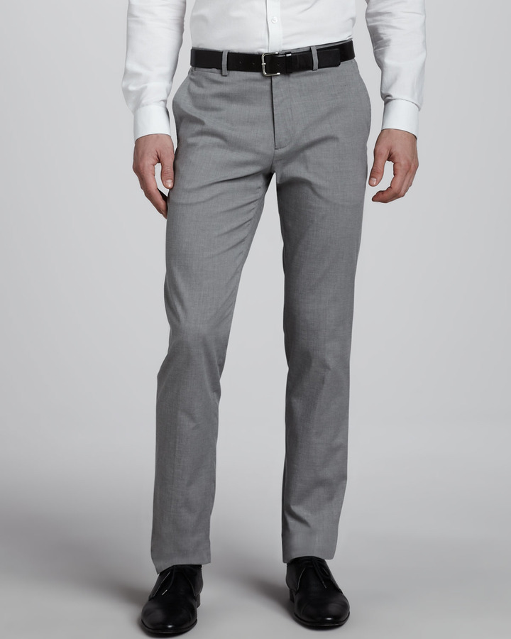 Theory Marlo Cotton-Blend Slim Pants