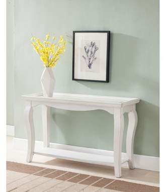Simmons Casegoods Buttermilk White Console Table