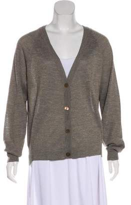 Dries Van Noten Knit Button-Up Cardigan