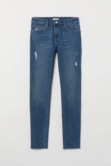 H&M - Pants Skinny fit - Blue