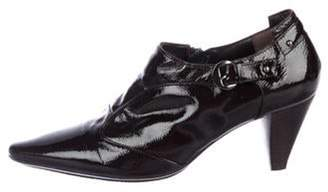 Aquatalia Patent Leather Ankle Boots Patent Leather Ankle Boots