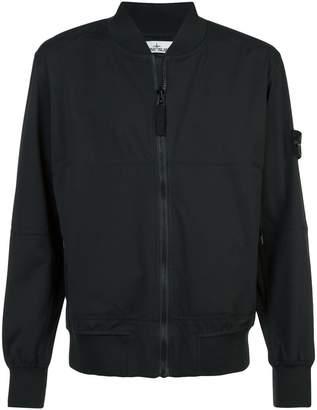 Stone Island soft shell bomber jacket