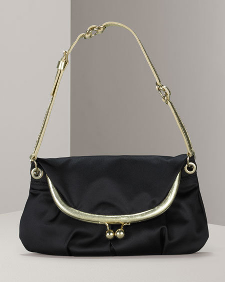 D&G Dolce & Gabbana Satin Evening Bag