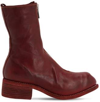 Guidi 1896 40mm Zip-up Full Grain Leather Boots