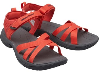 01ad622ba Karrimor Womens Ballena Strappy Webbing Sandals Coral