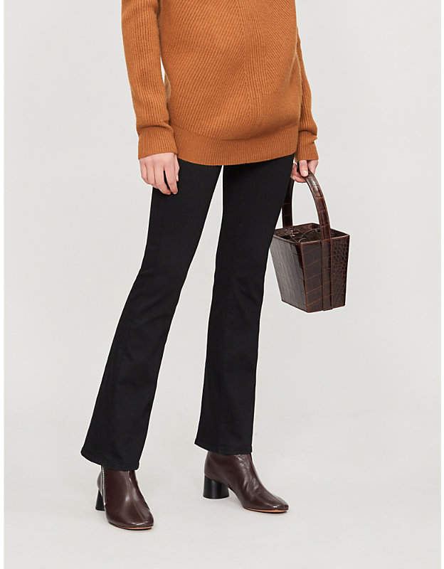 Sallie mid-rise bootcut jeans