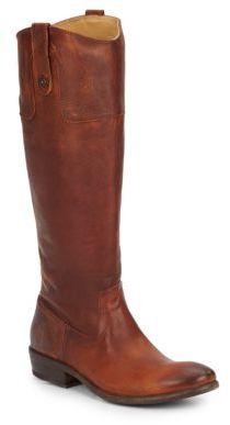 Carson Leather Riding Boots $398 thestylecure.com