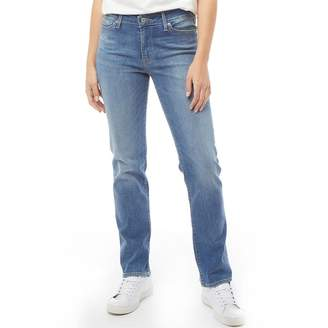 Levi's Womens 714 Straight Jeans Backtrack