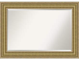 Amanti Art Astoria 43x31 Bathroom Mirror