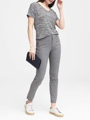 Banana Republic Petite Sloan Skinny-Fit Texture Pant