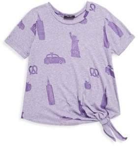 Icons Terez Girl's NYC Short-Sleeve Tee