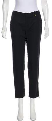 Calvin Klein Zipper-Accented Mid-Rise Pants