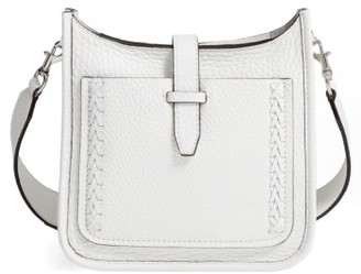 Rebecca Minkoff Mini Feed Unlined Bag - White $195 thestylecure.com