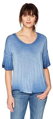 Olive + Oak Olive & Oak Women's Kristine Bell Sleeve Top