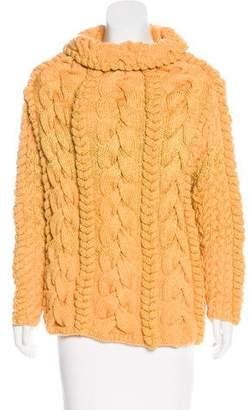 Spencer Vladimir Cable Knit Turtleneck Sweater