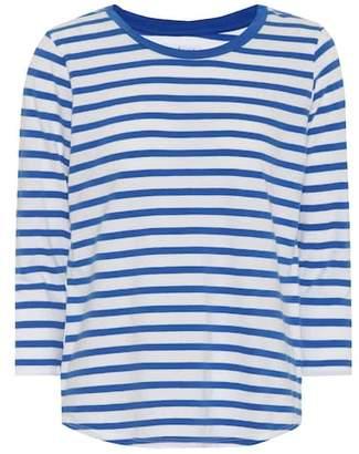 Velvet Neville striped cotton top