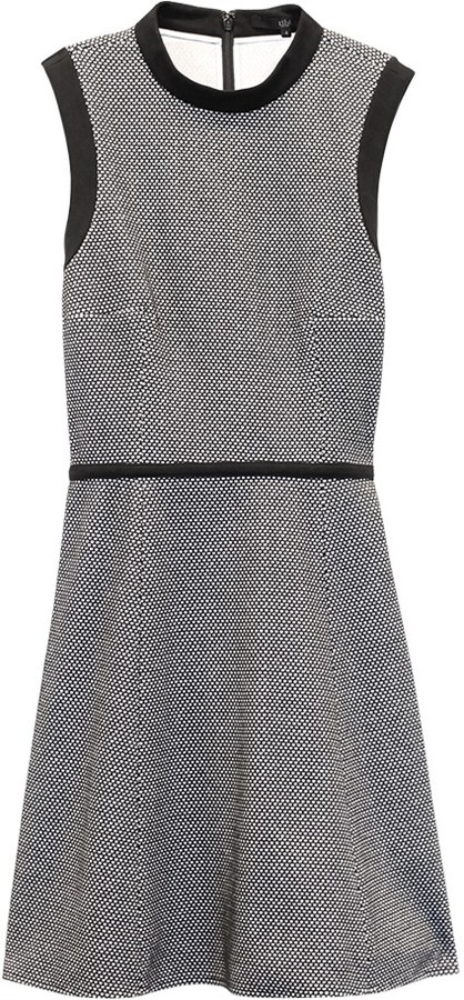 Tibi Honeycomb Dotted Dress