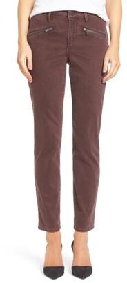 Women's Nydj Zip Pocket Skinny Chinos $114 thestylecure.com