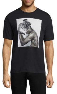 Neil Barrett Tattooed Statue Shirt