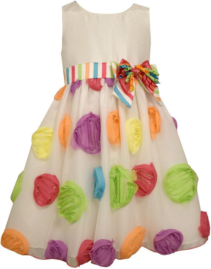 Bonnie JeanBonnie Jean Sleeveless Party Dress - Preschool