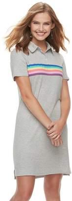 Love, Fire Love Fire Juniors' Polo Short Sleeve Dress