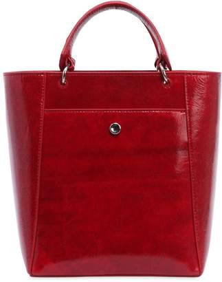 Elizabeth and James Small Eloise Patent Leather Tote Bag