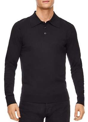 Sandro Polo Wool-Knit Sweater