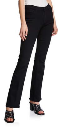 J Brand Sallie Mid-Rise Boot-Cut Trouser