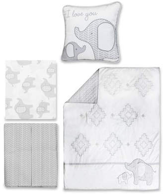 Harriet Bee Thacker 4 Piece Crib Bedding Set