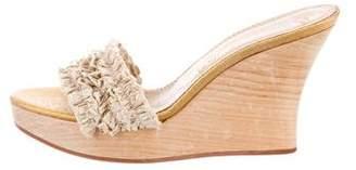 Stella McCartney Platform Wedge Sandals