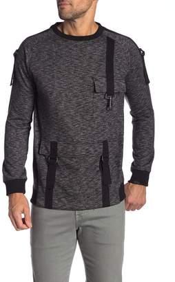 Soul Star Marled Buckle Sweatshirt