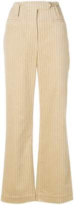 Nehera flared textured trousers