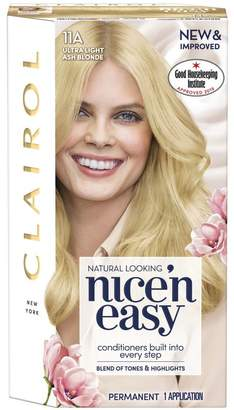 Clairol Nice'n Easy Permanent Hair Dye 11A Ultra Light Ash Blonde (Formerly Shade: 10A)