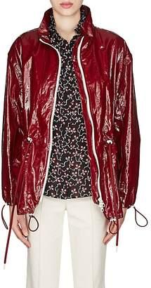 Isabel Marant Women's Enzo Laminated Cotton-Linen Jacket