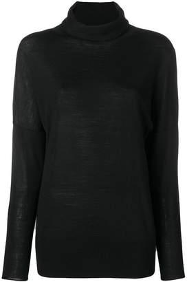 Hemisphere turtleneck sweater