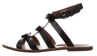 Marc by Marc Jacobs Leather Bow Sandals