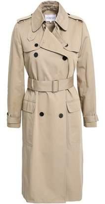 Claudie Pierlot Gloria Cotton-gabardine Trench Coat