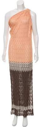 Missoni One Shoulder Maxi Dress