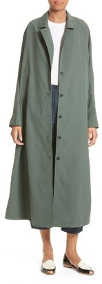 Women's Rachel Comey Kilo Nylon Trench Coat $449 thestylecure.com