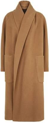 Max Mara Camel Hooded Coat