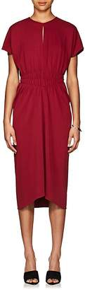 Narciso Rodriguez Women's Ruched Crepe Midi-Dress