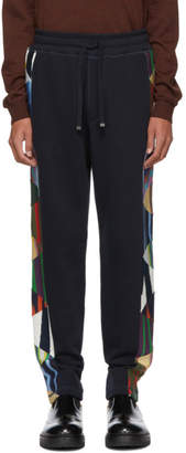 Missoni SSENSE Exclusive Navy Cotton Lounge Pants