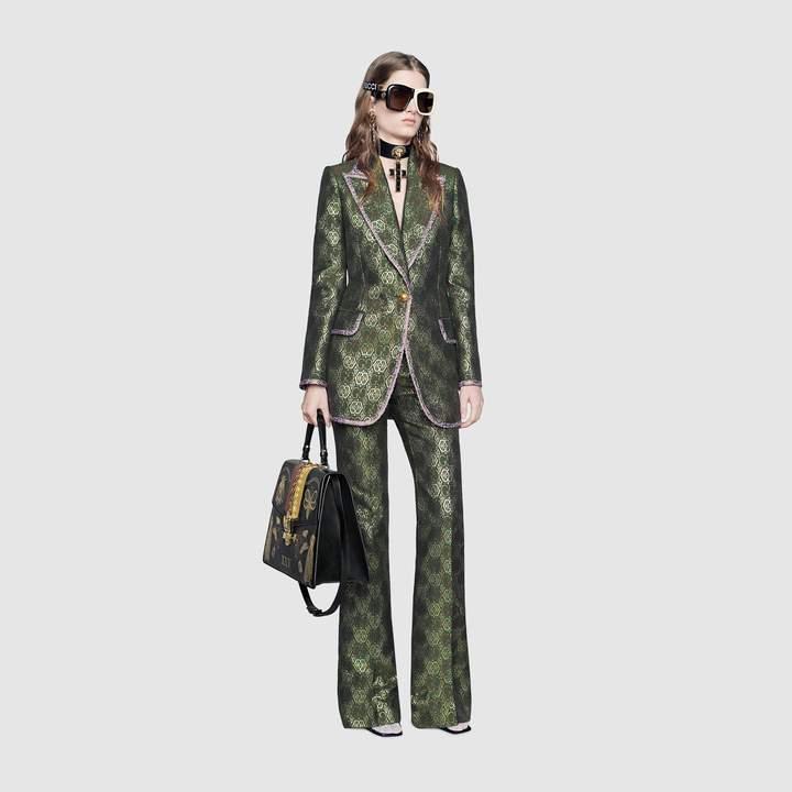 GG Art Deco floral jacket