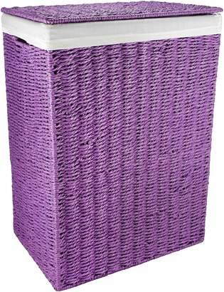 Laundry by Shelli Segal Tartaan & Co Paper Rope Basket (Set of 2)