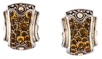 John Hardy Citrine Jaisalmer Earrings