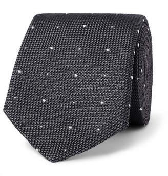 Richard James 8cm Polka-Dot Silk-Grenadine Tie